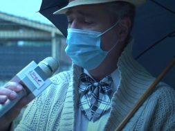 Chantons sous la pluie avec un masque Singin' in the Rain de Gene Kelly